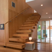 Stairs, handrails, balusters